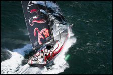 Mar Mostro on first leg of VOR