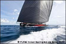 Mar Mostro races downwind